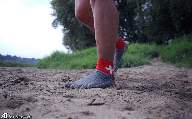 جورابهایی که جایگزین کفش می شوند!