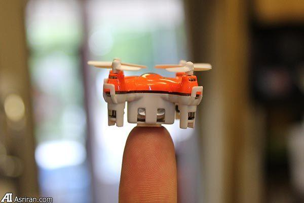معرفی کوچکترین کوادکاپتر جهان