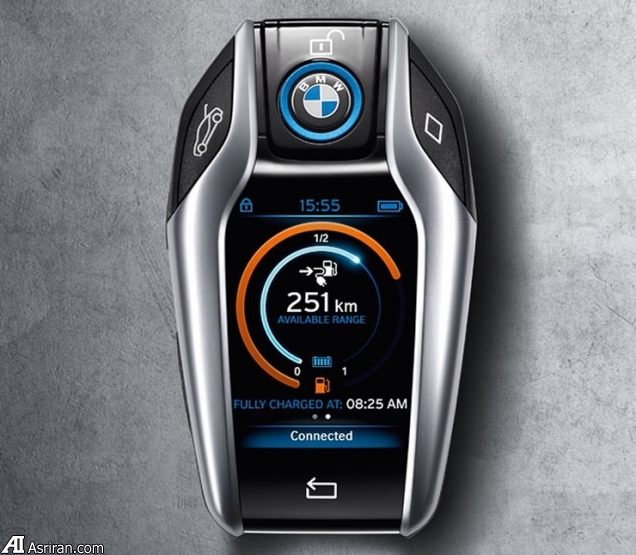 ریموت کنترل BMW i8 کلید هوشمند لمسی فوق لوکس در دستان شما(+عکس)