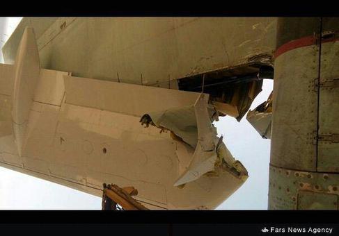 برخورد دو هواپیما در فرودگاه مهرآباد (+عکس)