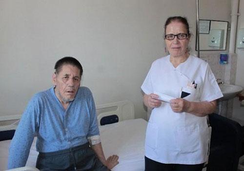 مردی که 47 سال در بیمارستان بستری بود! (+عکس)