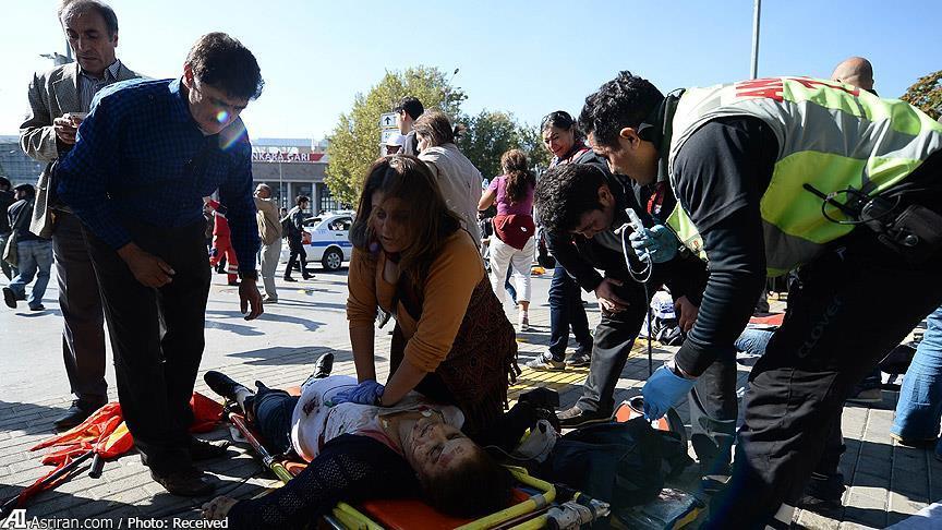 دستکم 30 کشته و 126 زخمی درانفجار انتحاری آنکارا(+عکس)