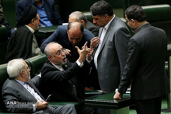 عصبانیت بیسابقه علیاکبر صالحی در مجلس
