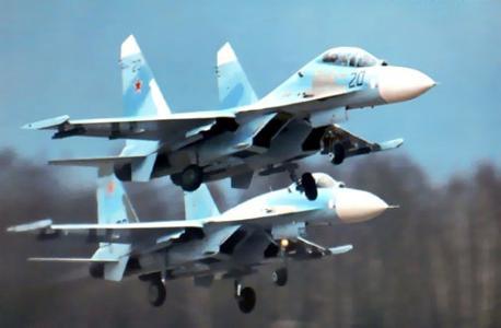 مانور مشترک هوایی روسیه و اسرائیل در آسمان سوریه