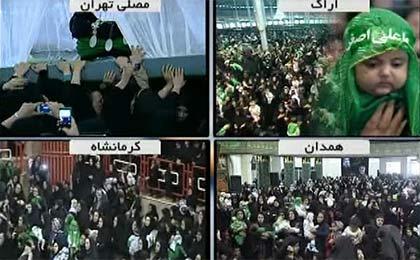 همایش شیرخوارگان حسینی در ایران و 40 کشور جهان