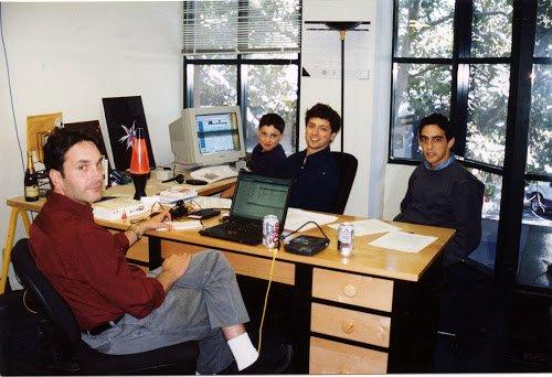 تصاویری تازه از خلق گوگل در خوابگاه دانشجویی در 1996 (عکس)