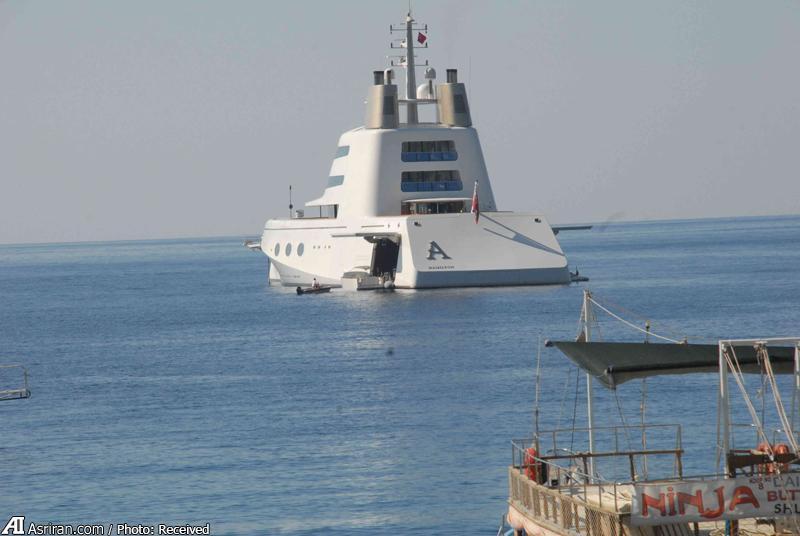تفریح 10 دلاری میلیاردر روس در سواحل ترکیه (+عکس)
