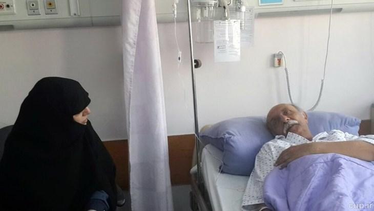 صدای ماندگار ورزش ایران در بستر بیماری (+عکس)