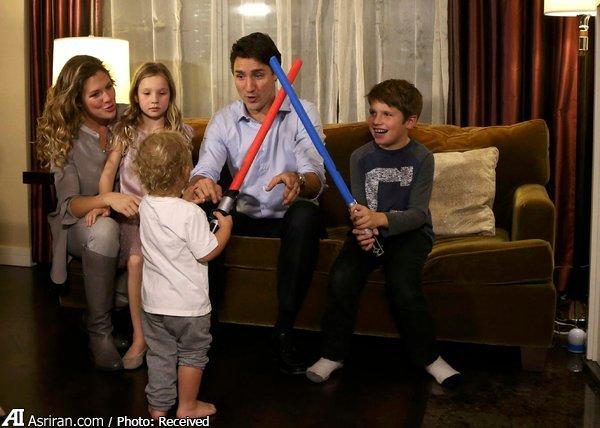 دومین نخست وزیر جوان تاریخ کانادا به قدرت می رسد(+عکس)