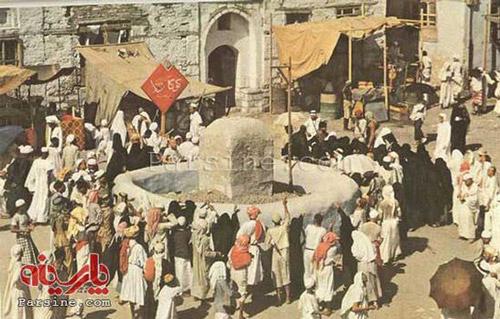 رمی جمرات، 70 سال قبل (عکس)