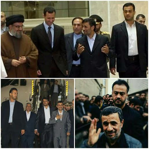 محافظ احمدی نژاد در سوریه شهید شد