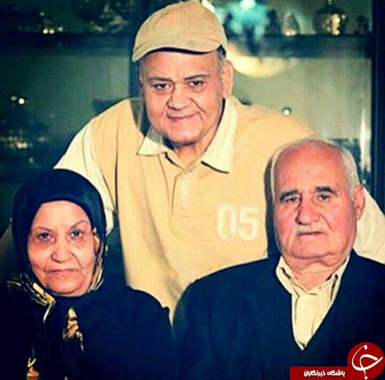 آیا خانواده اکبر عبدی را می شناسید؟ (+عکس)
