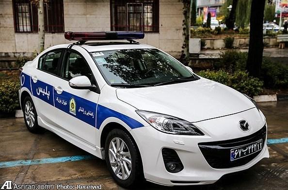 خودروی جدید پلیس ایران(عکس)
