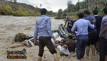 5 سرنشین پراید در رودخانه غرق شدند