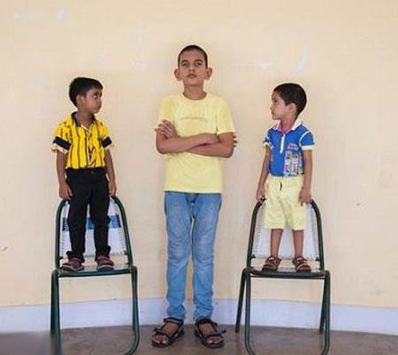 پسر 5 ساله با 170 سانتیمتر قد! (+عکس)