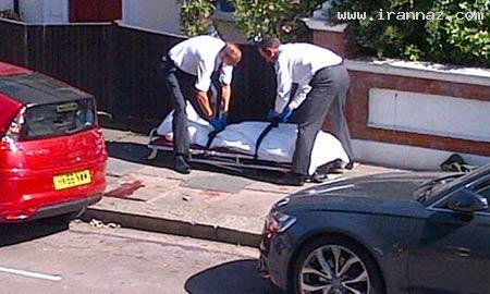 وحشت مردم بخاطر سقوط جسد از آسمان (+عکس)