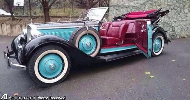 عکس خودرو خودرو کلاسیک