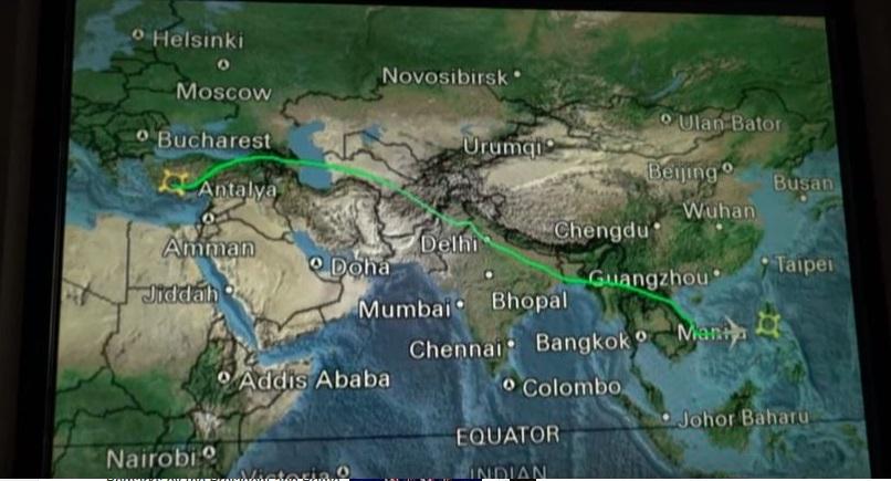 هواپیمای اوباما برای رد نشدن از آسمان ایران، تغییر مسیر داد