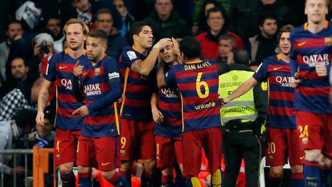 رئال مادرید 0 - 4 بارسلونا / انفجار در مادرید!(+عکس/جدول)