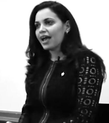این زن سوری سودای ریاست جمهوری آمریکا دارد (عکس)