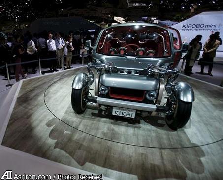 مجموعه ای بی نظیر از خودروهای آینده در نمایشگاه خودروی توکیو (+عکس)