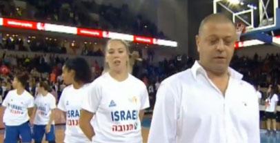 جنجال در بازی بکستبال زنان ترکیه و اسراییل (+عکس)