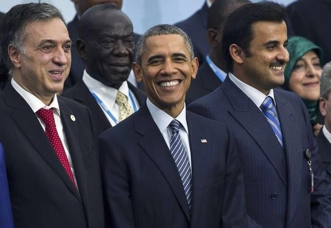 وقتی ابتکار و اوباما باهم عکس میگیرند (+عکس)