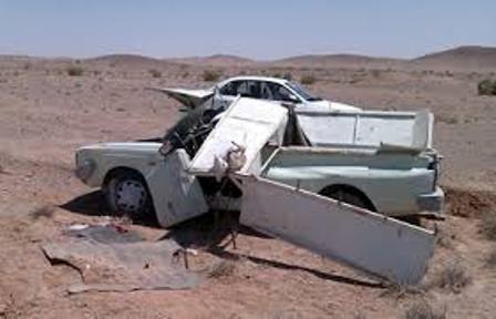 2 کشته در تصادف جاده نهاوند