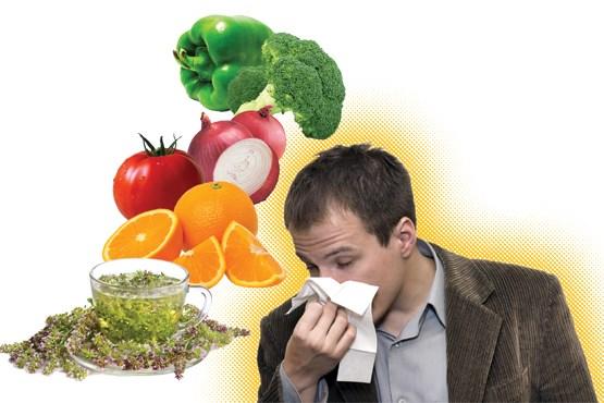 بخور نخورها در آنفلوآنزا