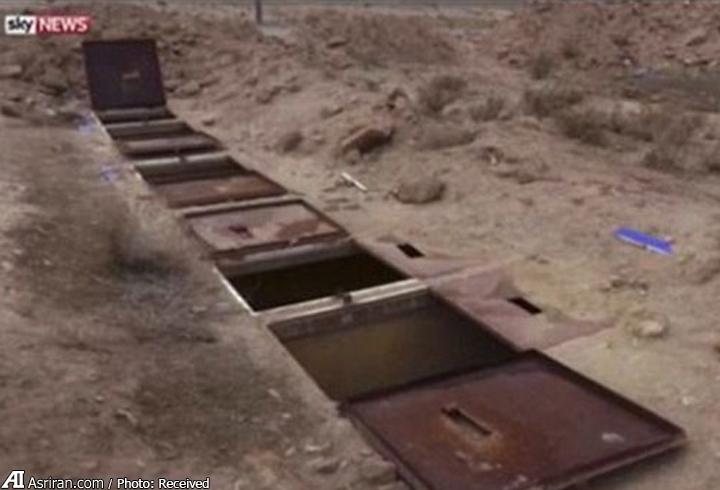 کشف اتاق های تجاوز داعشی ها به زنان ایزدی (+عکس)