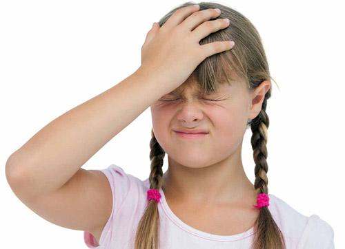وقتی کودک سردرد میگیرد