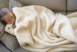 فواید تب ولرز در سرماخوردگی