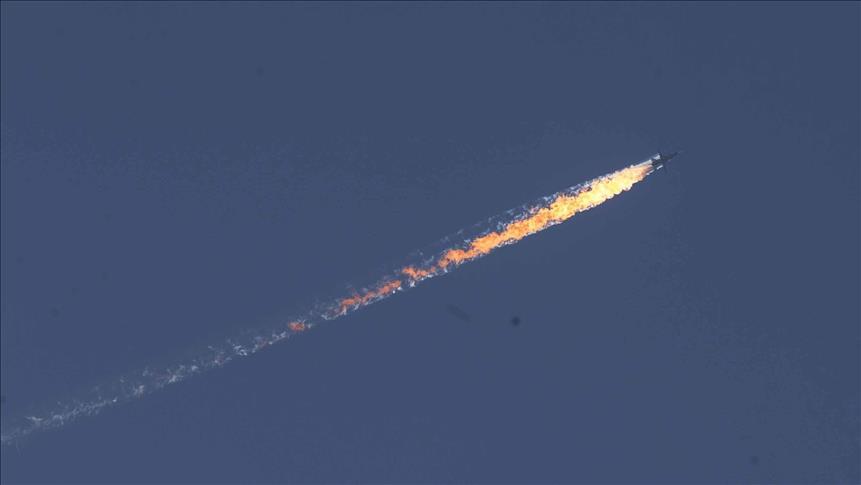 ترکیه جنگنده روسیه را سرنگون کرد