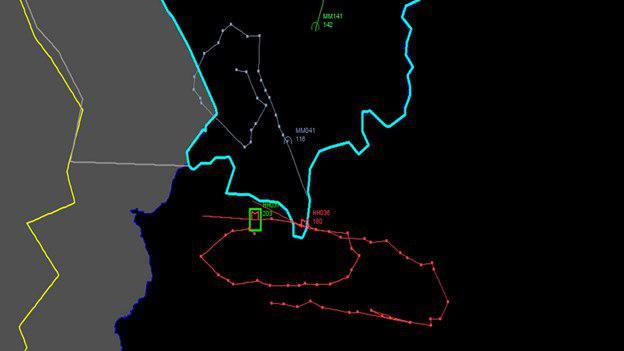 خط نقشه پرواز جنگنده روس قبل از سرنگونی توسط ترکیه (+نقشه)