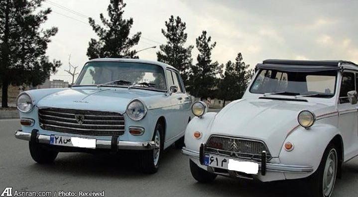 2 خودروی نوستالژیک در ایران (عکس)