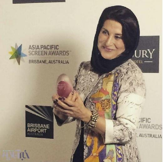 درخشش فاطمه معتمدآریا در یک جشنواره خارجی (+ عکس)