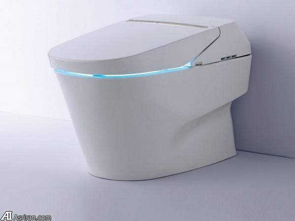 وقتی توالت نیز تحت تاثیر فناوری قرار می گیرد!