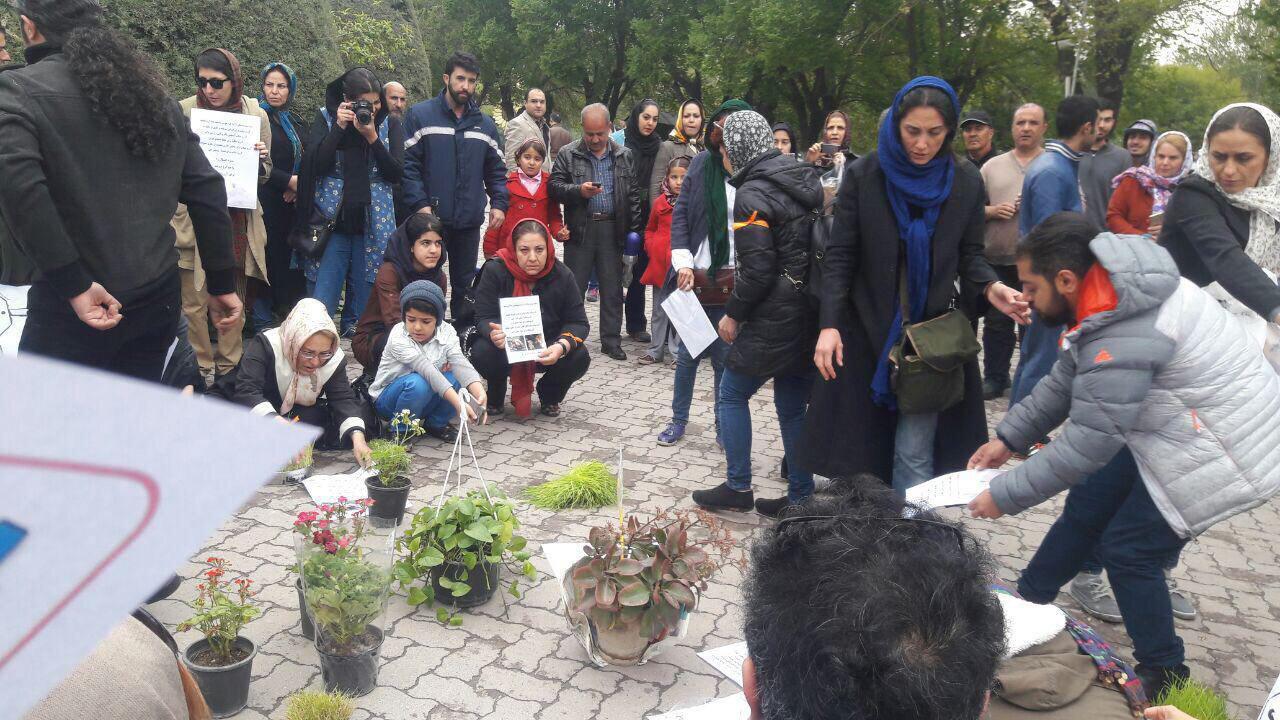 دردسر جدید برای هدیه تهرانی در پارک لاله! (+عکس)