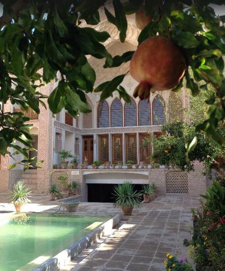 خانه ای قدیمی در کاشان در فهرست 25 هتل برتر خاورمیانه (+عکس)