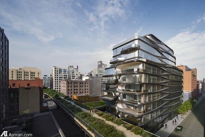 نگاهی به آخرین آپارتمان طراحی شده توسط زاها حدید