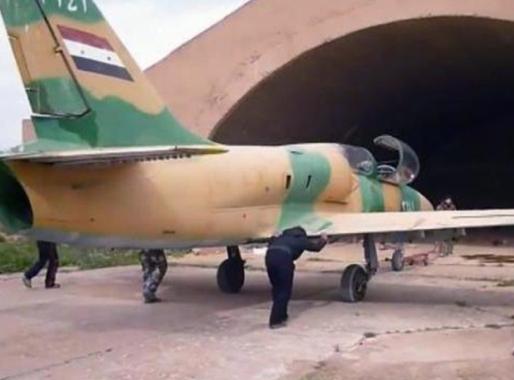 سرنگونی جنگنده ارتش سوریه با موشک زمین به هوا