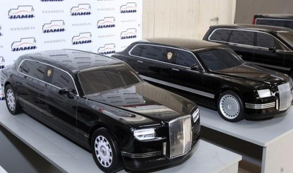 ساخت خودروی اختصاصی پوتین در سال 2018