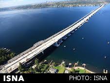 طولانیترین پل شناور جهان در واشنگتن ساخته شد (+عکس)