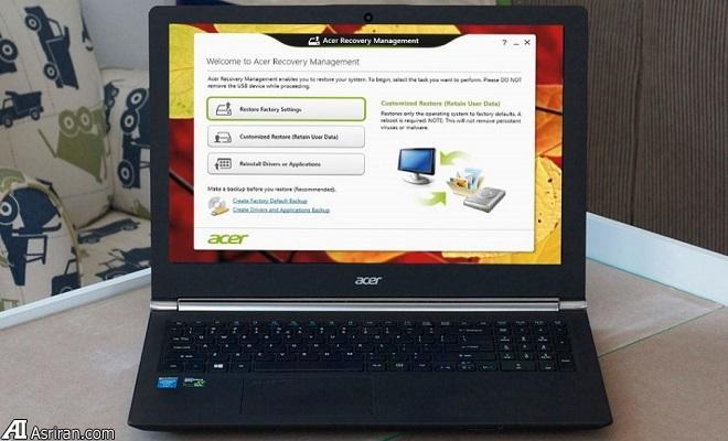 چگونه یک لپ تاپ را به تنظیمات اولیه کارخانه بازگردانیم؟