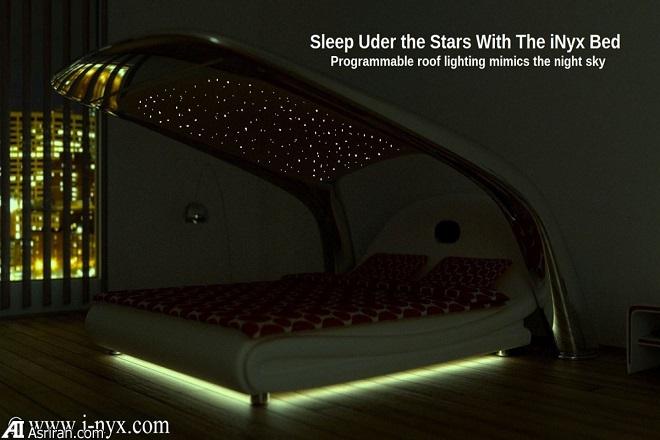 تجربه خوابی رویایی با پیشرفتهترین تختخواب جهان