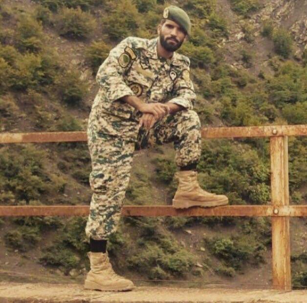 شهادت اولین عضو ارتش ایران در سوریه (+عکس)