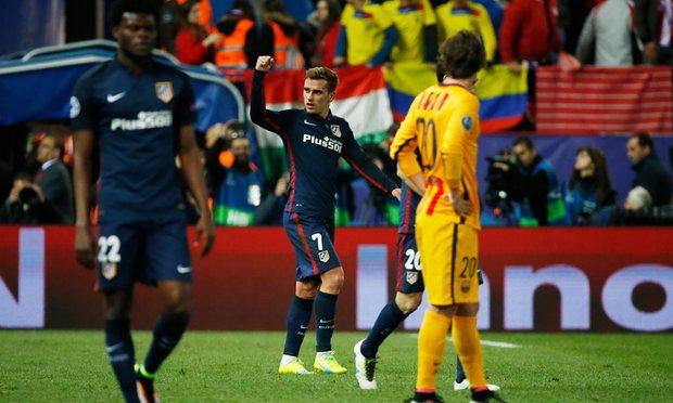 اتلتیکو مادرید 2 - 0 بارسلونا / حذف ناباورانه بارسا ازلیگ قهرمانان اروپا(+عکس)