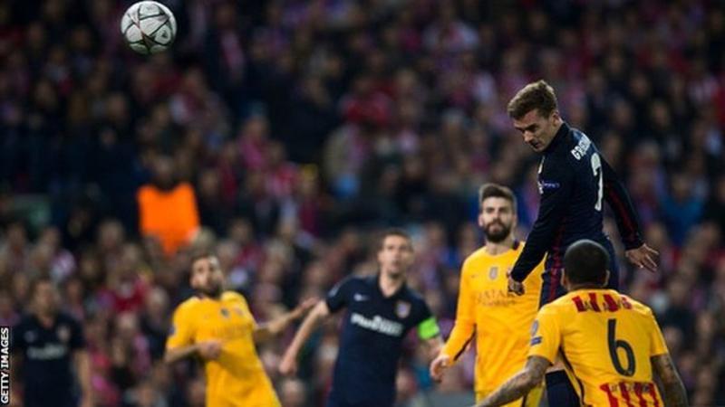 اتلتیکو مادرید 2 - 0 بارسلونا / حذف ناباورانه بارسا ازلیگ قهرمانان اروپا