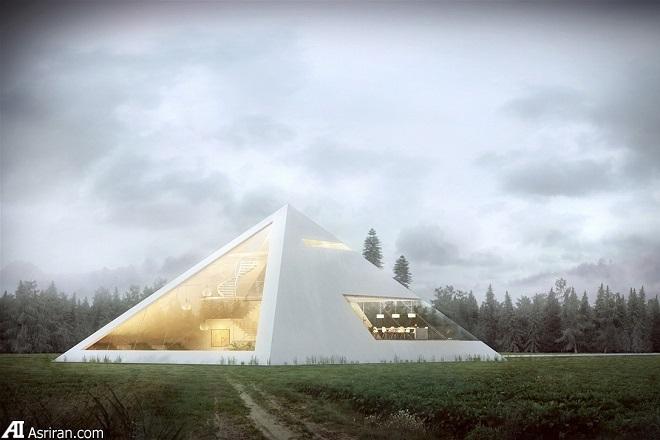 ارائه طرح خانه هرمی توسط خوان کارلو راموس