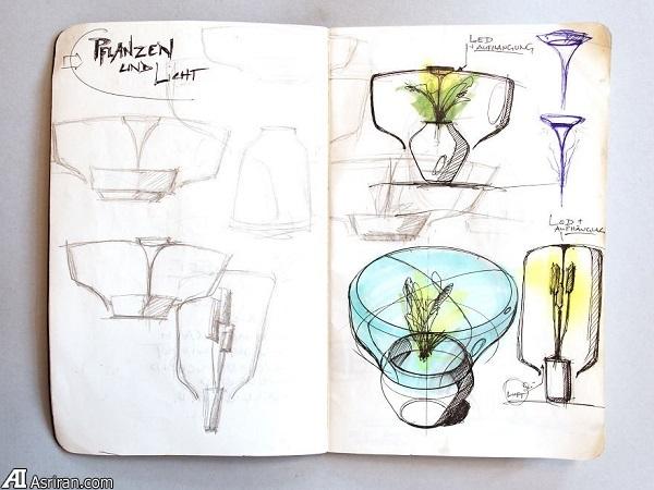 پرورش گیاه در یک لامپ!
